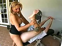 Hot mature shemale fucks sports guy