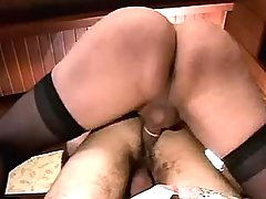 Sexy shemales fuck guy in all holes